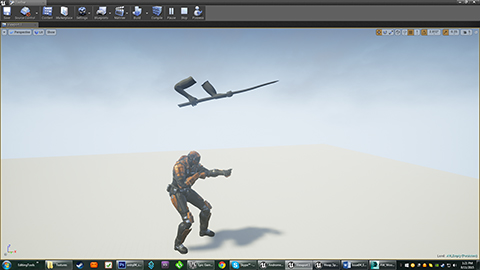 Spear Weapon Test In-Game