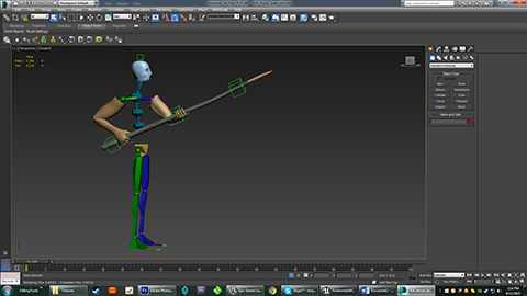 Spear Rig With Biped